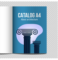 vertical lineart design vector image