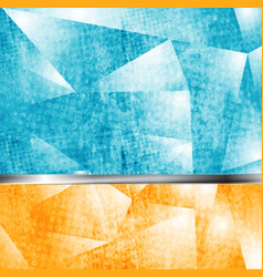 Abstract grunge tech backdrop vector image