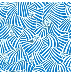 Abstract seamless frosty vector