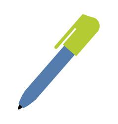 Ball point pen icon image vector