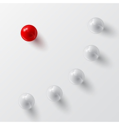 balls background 2 vector image