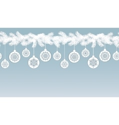 Christmas Seamless Border vector