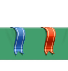 Decoration ribbons vector