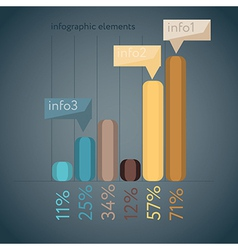 Minimal infographics vector