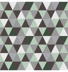 Pattern of geometric shapes Triangle background vector image