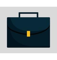 Suitcase of money concept vector