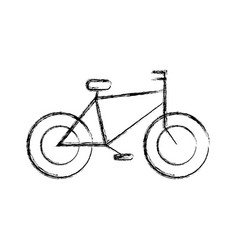 vintage bicycle vehicle vector image vector image