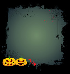 grunge halloween background 0409 vector image vector image