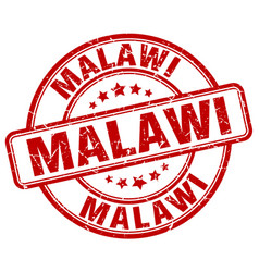 Malawi stamp vector