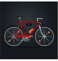mountain bicycle realistic sport bike vector image vector image