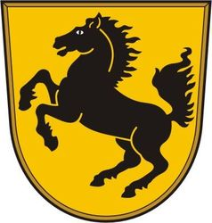 Stuttgart Coat of Arms vector image vector image
