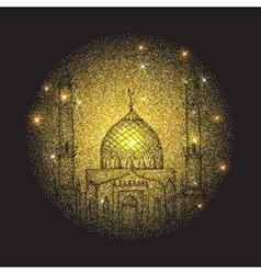Islamic holiday Ramadan vector image