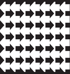 arrows seamless geometric pattern vector image