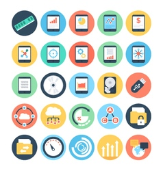 Data Science Icons 5 vector