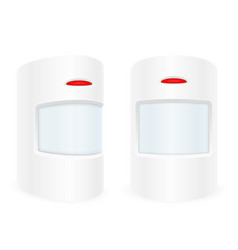 Motion sensor home security system vector