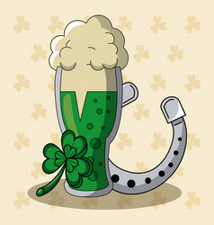 st patricks day cartoons vector image