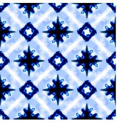 Watercolor tie dye shibori print vector