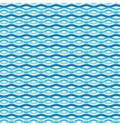Abstract wavy sea background Ocean waves texture vector image