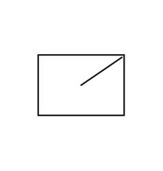 export icon vector image