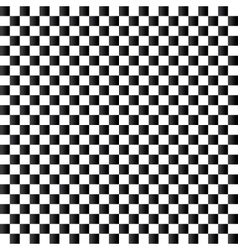 Checkered flag background Seamless chessboard vector image