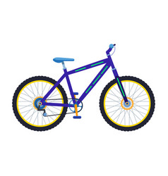 a sport mountain bike vector image