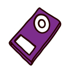 A view music player vector