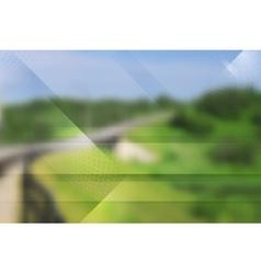 Abstract tech design Gradient mesh vector image