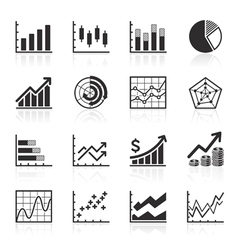 Business Infographics icons vector image