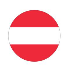 Circular world flag vector