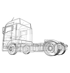 Commercial delivery tracing of 3d vector