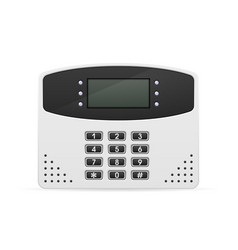Control block home security system vector