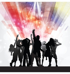 party people background 1009 vector image
