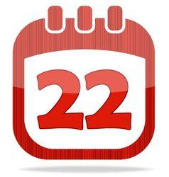 icon calendar Thanksgiving Day vector image vector image