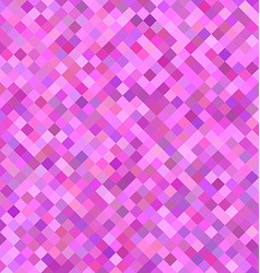 Pink square pattern background design vector image vector image