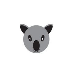 koala logo vector image
