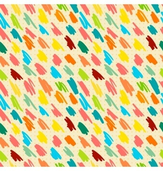 Seamless pattern with doodle stripes vector image