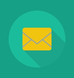 Technology Flat Icon Email vector image