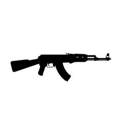 Assault russian rifle vector