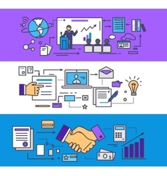 Conference Consulting Business Concept vector