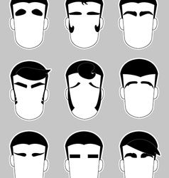 Eyebrow vector