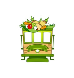 Food-Train-380x400 vector image