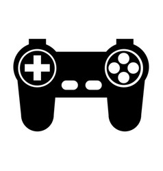 Game controller or joystick console keypad icon vector