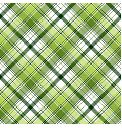Green ireland abstract check textile seamless vector