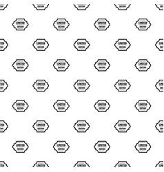 Limited edition pattern vector