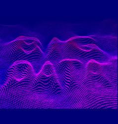 big data binary code background vector image vector image