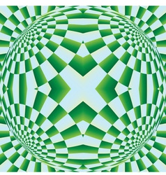 Optical expansion vector image vector image