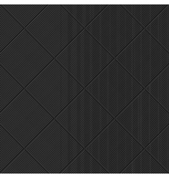 Black diagonal textured pattern vector image
