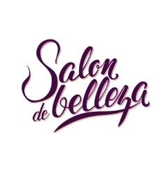 Calligraphy Logo Beauty Salon vector