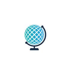 Globe logo icon design vector