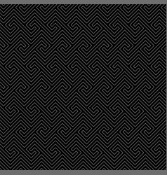 Line art maze seamless pattern vector